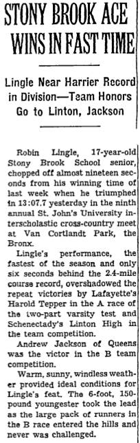 New York Times article from 10/18/1959