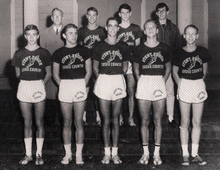 The 1964 Blue and White | Ogden (front row, 3rd from left) & Randall (front row, 2nd from right)