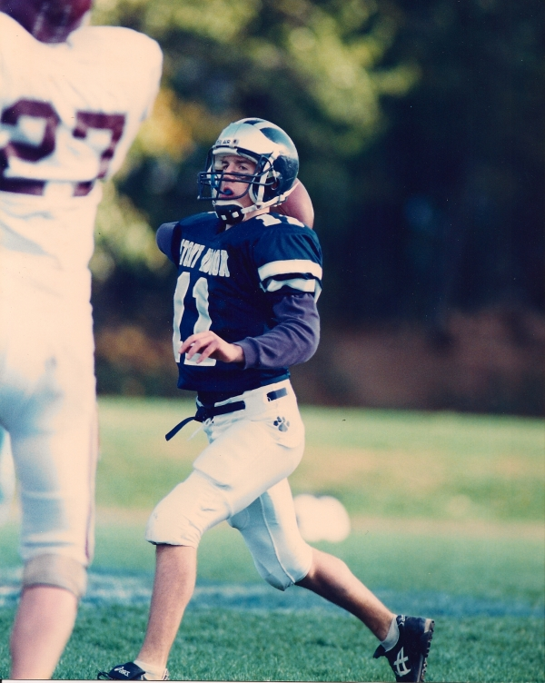 Derek Kenney was one of the most prolific passers in New York State history
