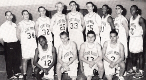 Marvin (1st row, 2nd from left) was the catalyst for the 1998-99 Bears