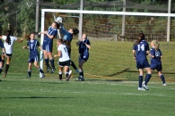 Danielle Pappas makes a save vs. Pierson