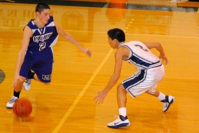 Marco Masakayan shows his tenacious defense