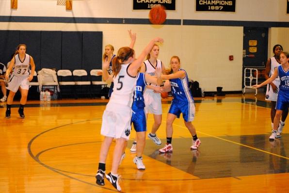 Jess Winston drills her 3rd 3-pointer