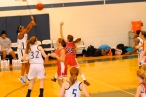 Odom hits her 2nd 3-pointer