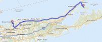 The epic Shelter Island trek: 105.38 miles round trip