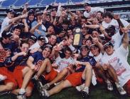 2003   Nathan Kenney (Back, far left) and the Cavaliers