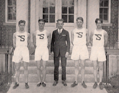The 1927 relay team