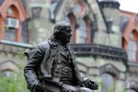 Ben Franklin on the University of Pennsylvania campus