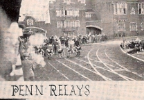 Smoke signals the start of the 1937 race