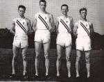 1949 Champions: Evers, Burnell, Dodd & Haff