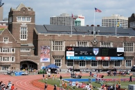 The famous Franklin Field facade