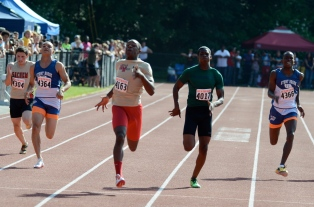 Colucci & Lawson become 2 of the 4 fastest men in Suffolk County in the 200m