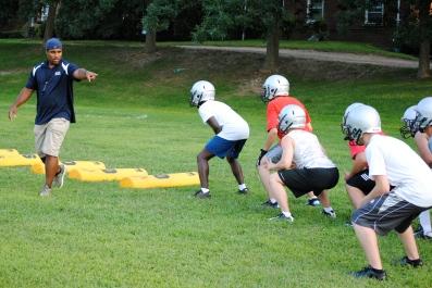 Head coach Kris Ryan critiques defensive form