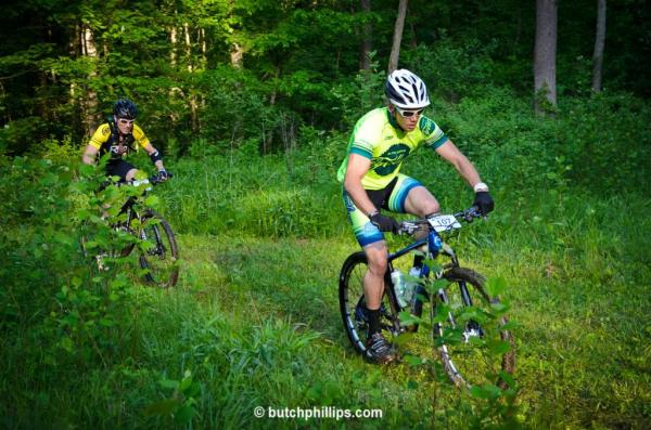 Dave competing in the Mohican 100 in Ohio