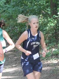 Anna heads toward Snake Hill