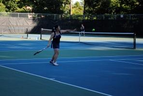 Akari Yoshida played resilient tennis today