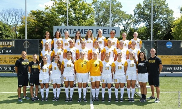 The #13 team in America (Liotine 2nd row, 2nd from R) | Photo credit: Adelphi University