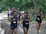 Cianka, Danielle & Lely stay in the pack