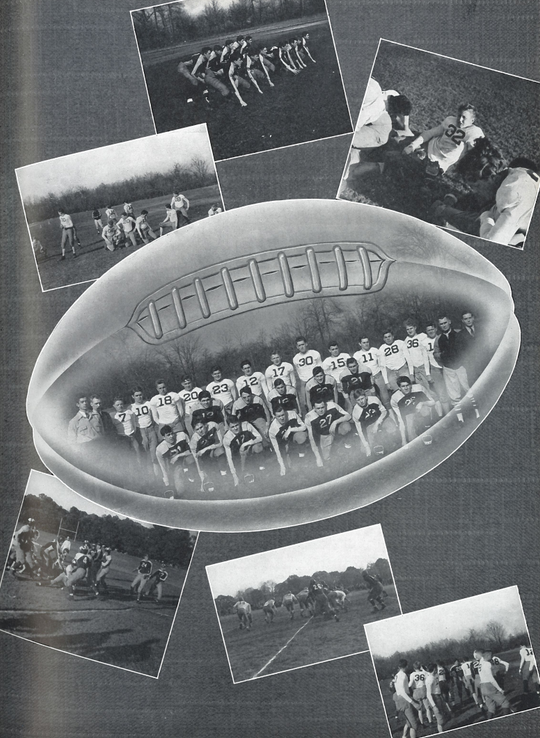 Scenes of the '39 football season from Res Gestae 1940