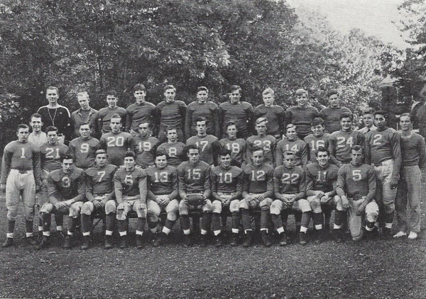 The 1940 Football Squad