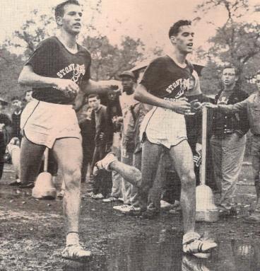 Randall (left) & Ogden in the St. John's Invite