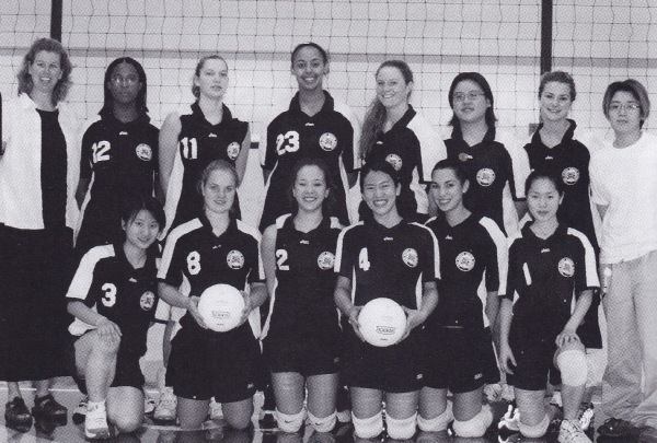 The 2001 Volleyball Team
