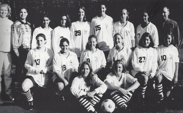The '96 Bears (MacLeod: #13, Meserole: #29, Banks: Top, 3rd from R)