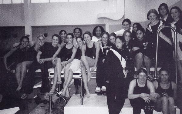 The 2001 swim team