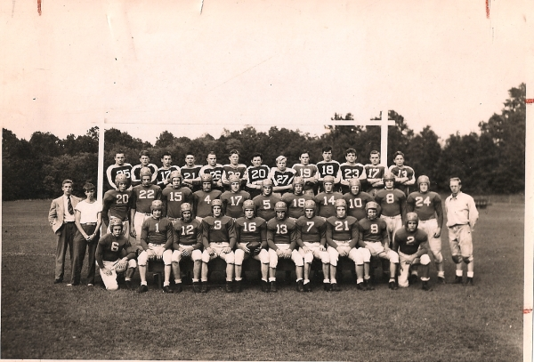 The '43 football squad