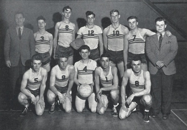 The 1940-41 cagers