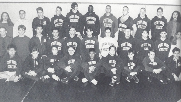 The 1993 wrestling squad