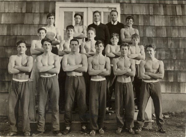 The 1933 wrestling squad