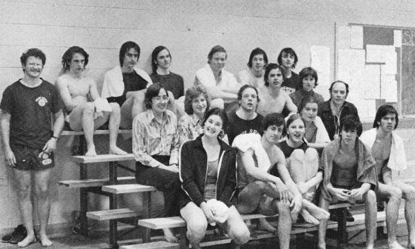 The '75 swim team