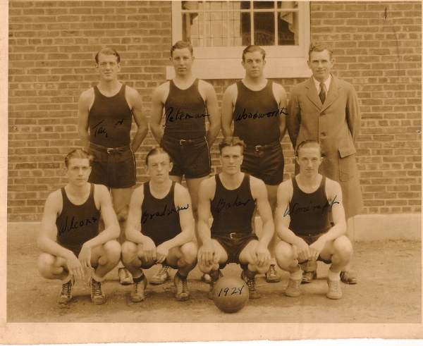 The 1928 basketball squad