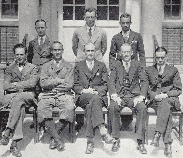 The 1927 faculty: Educators. Ballers.