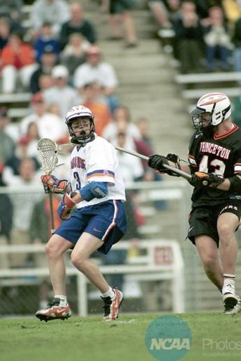 Banks during Syracuse's 2000 National Championship win over Princeton