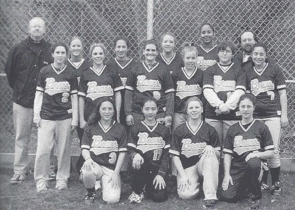 The 2002 Bears: Gonzalez (Middle row, 2nd from right)