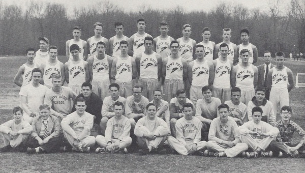The 1953 track team