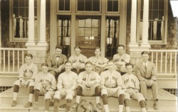 The baseball team, circa 1925