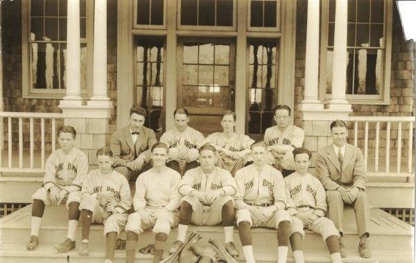 The baseball team, circa 1925
