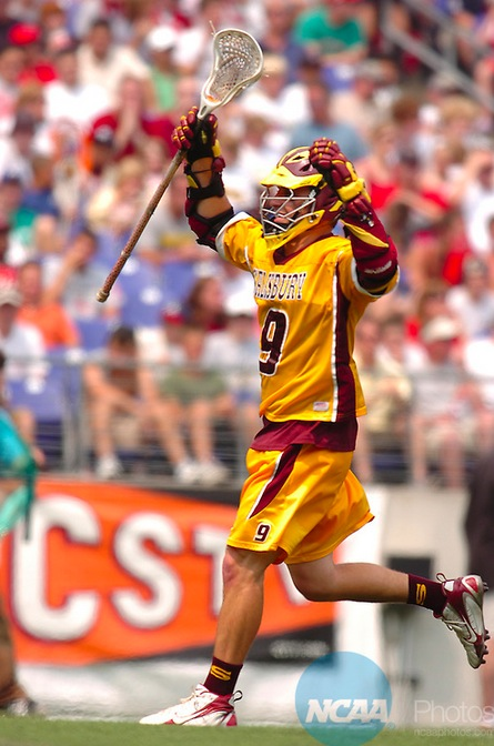 Titus celebrates a goal during the 2007 title game