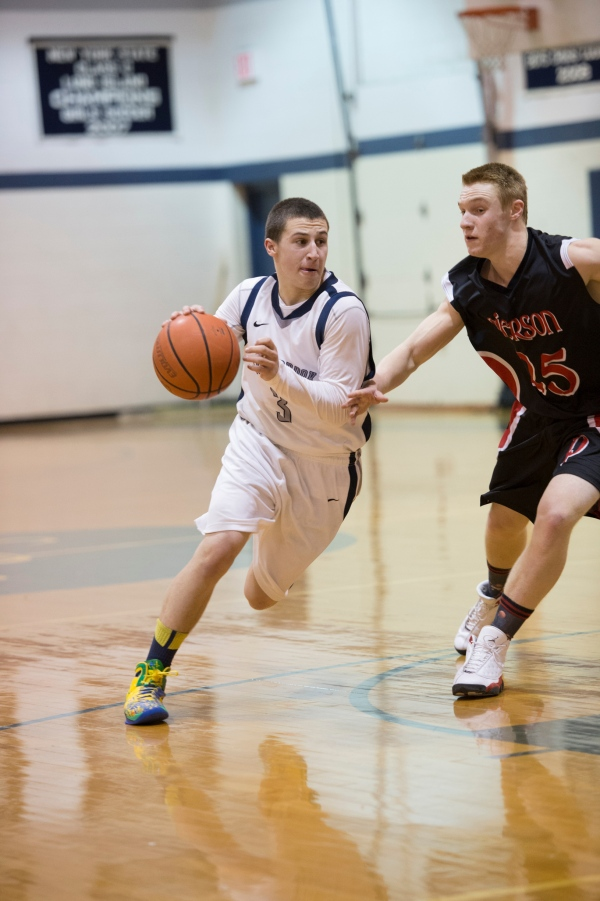 Robbie Colarusso became the 7th boys' basketball player to reach 1,000 points