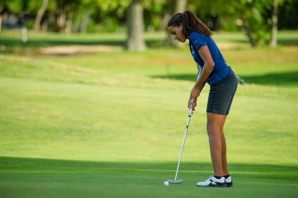Rosa on the course for the Brook in 2013 (Photo credit: Bruce Jeffrey)