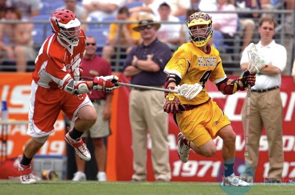 Greg Titus during Salisbury's 2007 National Title game