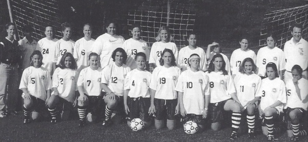 The 2000 girls' soccer team