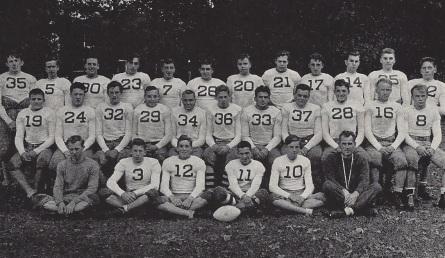 The '38 Stony Brook football squad (Medd - #19)