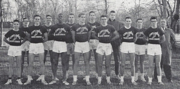 The 1961 cross country team