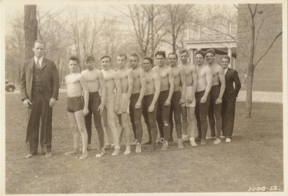The 1934 wrestling squad