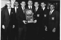 Lingle and the 1965 National Champion Tigers