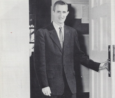 Bruce in his 1961 Res Gestae dedication photo